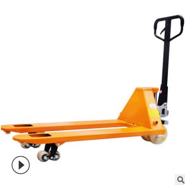 3吨重型手动液压托盘搬运车 地牛油压手推拖车装卸车 厂家直销