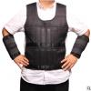 厂家供应可调节钢板背心套装 沙袋空皮 绑手绑腿负重马甲沙衣代发