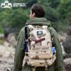 厂家直销军亚马逊新款迷迷彩多功能防水的战术运动背包户外登山包