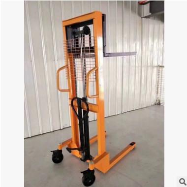 加强手动液压车堆高车升高车升降叉车1吨2吨3吨电动搬运装卸铲车