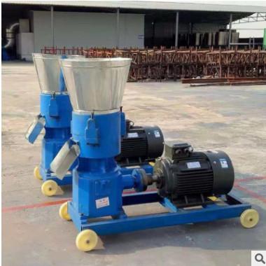 鸭子颗粒饲料机自动加热灭菌饲料颗粒机 210型家禽颗粒饲料机