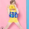 儿童泳衣2019女童男童泳装婴儿宝宝可爱连体浮力泳衣批发一件代发