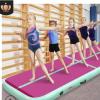 厂家直供充气瑜伽垫跆拳道体操垫充体操气垫PVC拉丝专业气垫