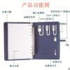 厂家直销A5商务转接头款充电记事本 定制logo 带u盘 移动电源