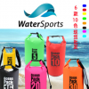 现货中性500DPVC夹网沙滩包沙滩袋6款10色防水耐刮户外游泳防水包