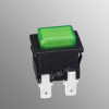 大按键带灯按钮开关 自锁开关 KAN-L6 大电流UL KC 彩电仪器仪表