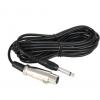 6.5mm公转卡侬母话筒线 功放连接线麦克风音响音频线调音台电容麦