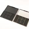 新款带镜子眼影盒 长方形塑胶盒子 18色彩妆眼影包材可定制LOGO