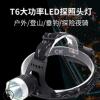 新品led强光锂电池充电头灯 远射大功率灯钓鱼头灯夜钓灯头戴电筒
