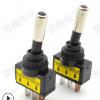 直销ASW-15D带LED灯汽车改装开关,拨动开关钮子带灯开关12V 20A
