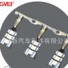 GVEI厂家生产各种电动工具接插件端子 插簧接线端子 连带端子定制