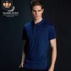 高档速干翻领越南专供11色工作服广告衫吸湿排汗舒适Polo翻领衫