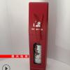 红酒纸质礼盒 新款单支瓦楞纸折叠包装盒子logo烫金厂家定制