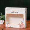 白卡纸开窗贴膜礼品包装盒定做化妆洗护肤品彩盒牛皮纸盒定制logo