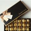 巧克力包装盒定做 创意礼品盒定制蝴蝶结白卡纸礼盒印刷包装批发
