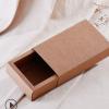 牛皮纸盒 手工皂包装盒抽屉纸盒 茶叶花草茶包装盒小花束包装纸盒