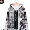 3D印花新款JOJO的奇妙冒险拉链动漫卫衣二次元开衫动漫周边厂家