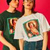 2019夏季新款原创潮牌个性简约图案 棉质圆领男士女士短袖T恤