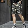 迷彩工装短裤男夏季潮牌薄款5分裤子中裤宽松休闲男式五分裤男士