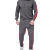 亚马逊 ebay敦煌Wish男女运动休闲运动服套装纯色条纹卫衣+卫裤