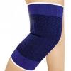 厂家直销 宝蓝针织护膝 质优价廉骑行排球登山护膝 冬季保暖护膝