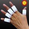 厂家大量供应 尼龙护手指 蓝色护指 黑色护指 针织篮球运动护指
