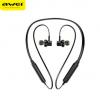 AWEI用维G20BL挂脖式磁吸运动蓝牙耳机4.2双动圈无线耳机