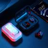 跨境 TWS触控蓝牙耳机5.0真无线迷你隐形运动跑步耳机通用型