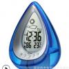 杰梭科水滴形水能闹钟 消息果子 创意水发电温湿度水能闹钟