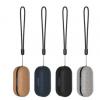 厂家直供 私模新款 棕色贴皮 TWS5.0真无线蓝牙耳机