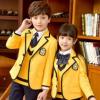 班服西装春秋冬季学院风外套男女童小学生校服套装幼儿园园服定制