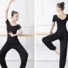V领舞蹈练功服装成人形体训练服套装女显瘦现代舞服中国舞芭蕾服
