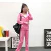 2020春季新款女式运动休闲套装 韩版修身显瘦学生运动套装女