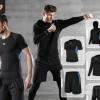 运动套装男秋休闲男士健身服速干跑步篮球紧身衣健身裤套装运动装