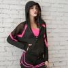 瑜伽服运动套装女2020新款秋冬宽松速干专业健身房性感健身服
