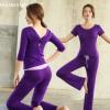 中短袖跑步三件套专业健身瑜伽服性感运动舞蹈练功套装女吊带背心