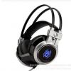 游戏耳机网吧耳机发光震动头戴式电脑耳机gaming F45 headphone