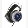 电脑耳机游戏耳机 头戴式耳机网吧耳机重低音七彩发光耳麦
