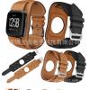 适用于Fitbit Versa 2真皮表带真皮手镯款手表带护腕皮表带