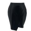 欧美皮裙跨境PU包臀性感半身裙来图来样包工包料leather skirt