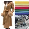 2018秋冬新款外套女中长款修身韩版毛呢子大衣服装制版打样工作室