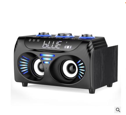 万圣2.1声道3D环绕无线蓝牙时钟闹钟多功能音响家用音响