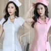 桃花来袭情趣内衣女角色扮演性感短裙女护士制服诱惑套装外贸9125
