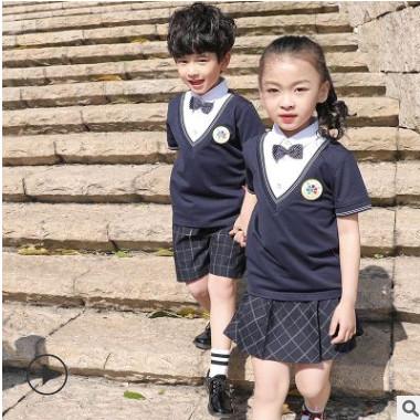 2020春夏新款幼儿园园服运动服中小学生校服班服套装教师服定制
