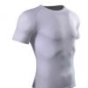 男式短袖运动t恤高弹排汗快干透气圆领健身跑步紧身衣