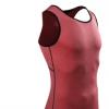运动紧身背心无袖篮球跑步健身服压缩速干衣夜晨跑训练装备