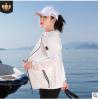 防晒衣女2020夏季新款户外冰丝连帽防紫外线透气薄短款防晒服外套