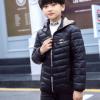 2020新款男童棉衣中大童男孩羽绒棉服连帽棉袄冬装学生外套
