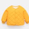 儿童羽绒棉服2020新款宝宝棉衣秋装款加绒婴幼儿保暖开衫内胆棉袄