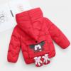 冬季新款男女宝宝棉衣卡通可爱儿童羽绒棉服小童加厚童装棉袄外套